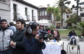 Estudiantes de Periodismo