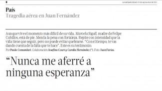 Entrevista Marcela Sigall Diario La Tercera