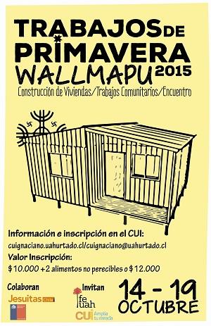 Trabajos de Primavera Wallmapu