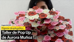 Figuras desplegables: taller de Pop Up de Aurora Muñoz