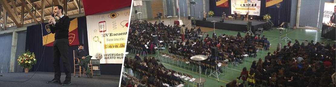 1.200 secundarios piensan el país en el Encuentro de participación juvenil Seminario Alberto Hurtado