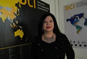 Alina Morales, Coordinadora de Intercambio de la Dirección de Cooperación Internacional de la UAH.
