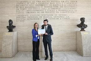 Francisco Vitta diploma