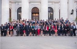 Participantes jornadas de Derecho