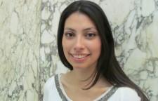 Alexandra Álamos, estudiante de cuarto año de Derecho en la UAH.