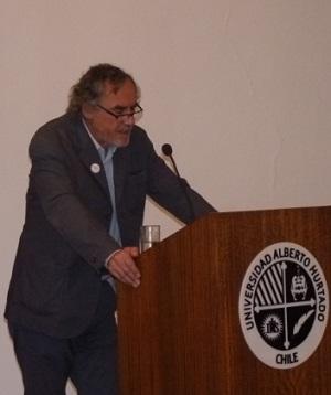Vicerrector Académico Pedro Milos.