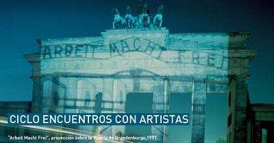 Ciclo Encuentros con Artistas, invitados: Horst Hoheisel, Andreas Knitz y Rodrigo Yanes