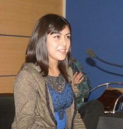 Marisel Cabezas, estudiante de Bachillerato en Ciencias y Humanidades de la USACH.