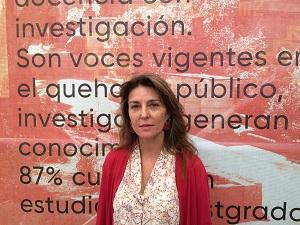 Paulette Landon, Decana de la Facultad de Ciencias Sociales.