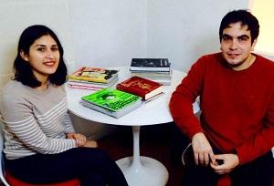 Carla Gómez y Julian Bustamante