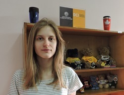 Hanne Craye, estudiante de la Universidad de Gante.