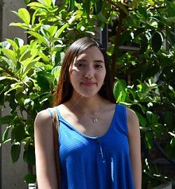 María Eugenia Villaverde, estudiante de primer año de psicología.