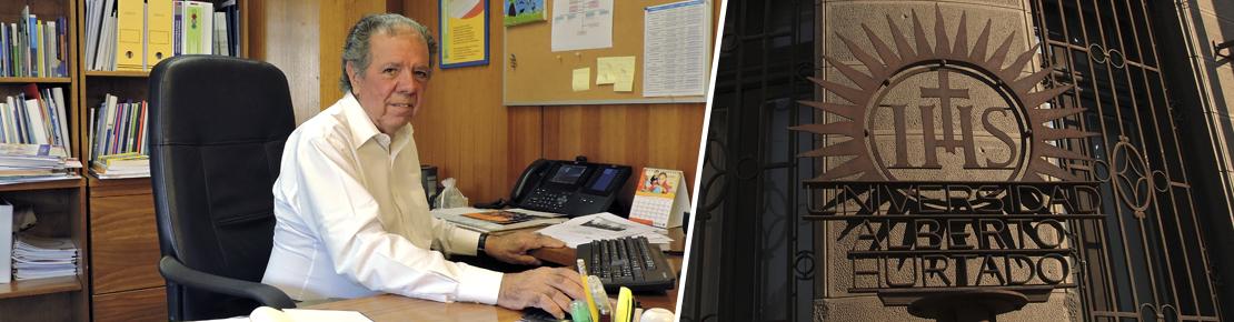 Juan Eduardo García-Huidobro fue nombrado Profesor Emérito de la Universidad Alberto Hurtado