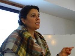 Josefina Palma, Coordinadora de Interculturalidad y Educación del Servicio Jesuita a Migrantes.