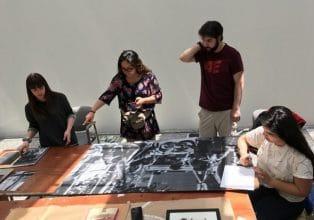 Estudiantes de Teoría e Historia del Arte