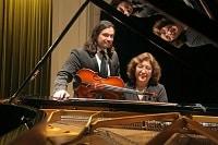Charla-ConciertoPanorama musical chileno para violín y piano.