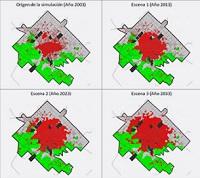 Conferencia Magistral: Modelación del crecimiento urbano con autómatas celulares