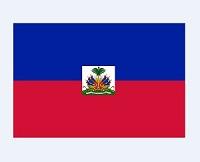 Celebración de la bandera haitiana
