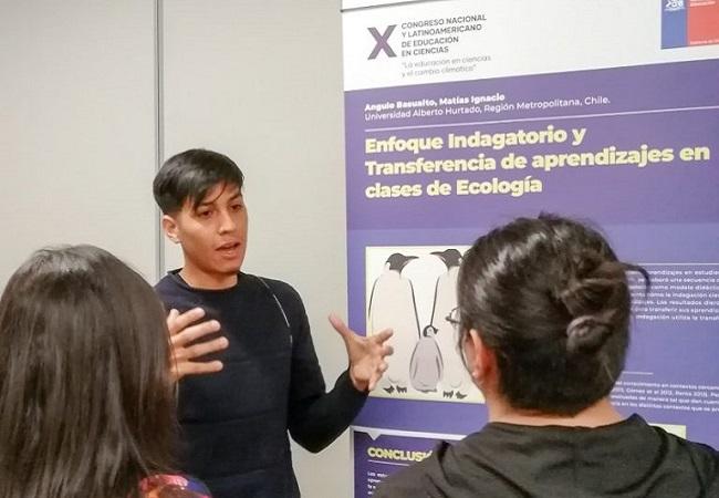 Egresados de Pedagogía en Biología y CCNN participaron en Congreso de Ciencias