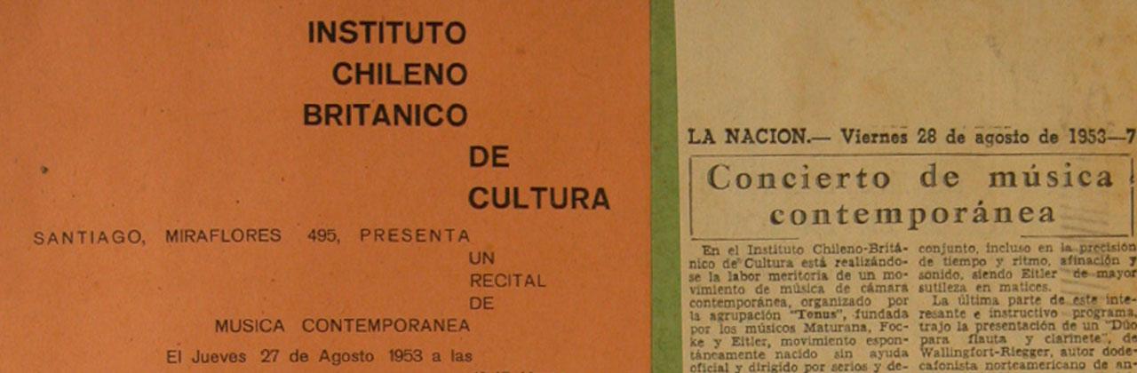 Nace el primer archivo de conciertos de música docta en Chile